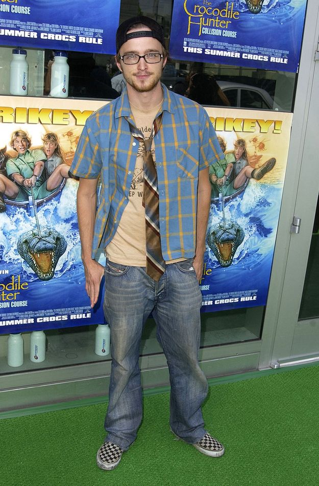 Before There Was Jesse Pinkman There Was Aaron Paul Of 2002 Early 2000s Fashion 2000s Fashion Men 2000s Mens Fashion