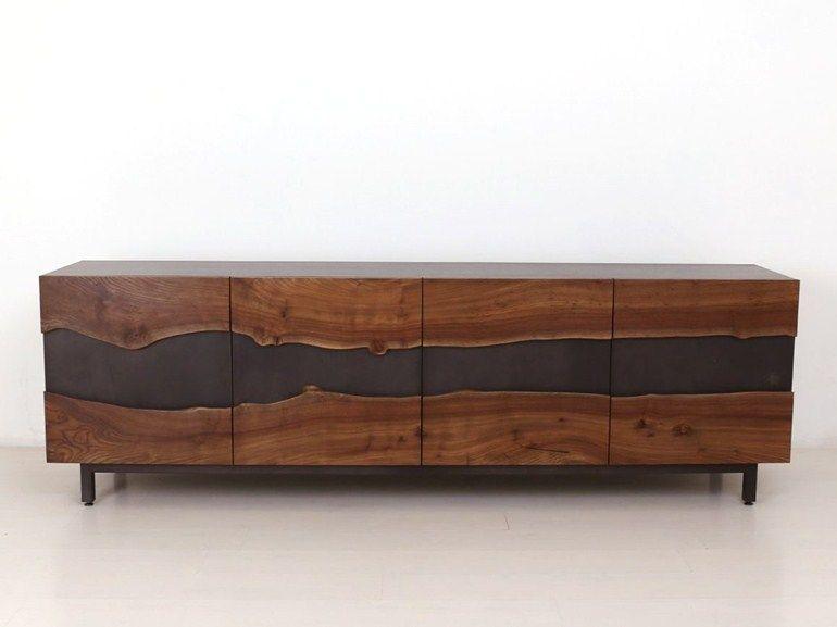 Wooden sideboard SUMMIT MEDIA UNIT - Uhuru Design | Modern casegoods ...