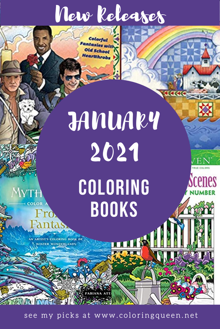 Coloring Books New Releases January 2021 Coloring Queen Books New Releases Coloring Books Books