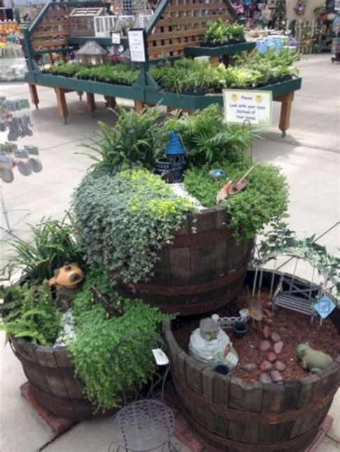 Most Unique and Creative Fairy Gardens That You May Create Easily (25+ Best Ideas) - Fairy garden plants, Mini fairy garden, Fairy garden houses, Fairy garden diy, Fairy garden designs, Fairy garden - If you have a small home garden but want to decorate it to be more beautiful and memorable like a fairy tale garden, maybe the idea of putting this mini stone house fits your liking  This stone hou…