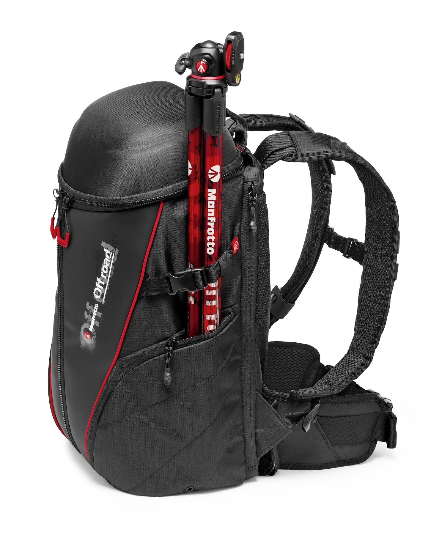a42feb8292ac The Manfrotto Off road Stunt action camera backpack is the perfect  companion for your extreme activities. Thanks to the removable internal  protective ...
