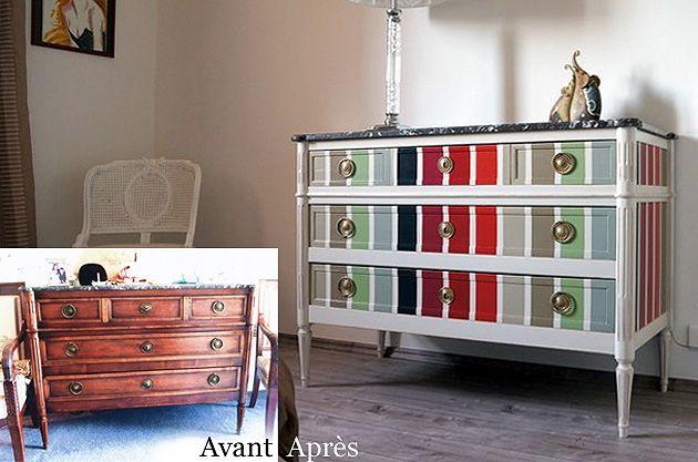 customiser des vieux meubles, les astuces Relooking Pinterest - moderniser des vieux meubles