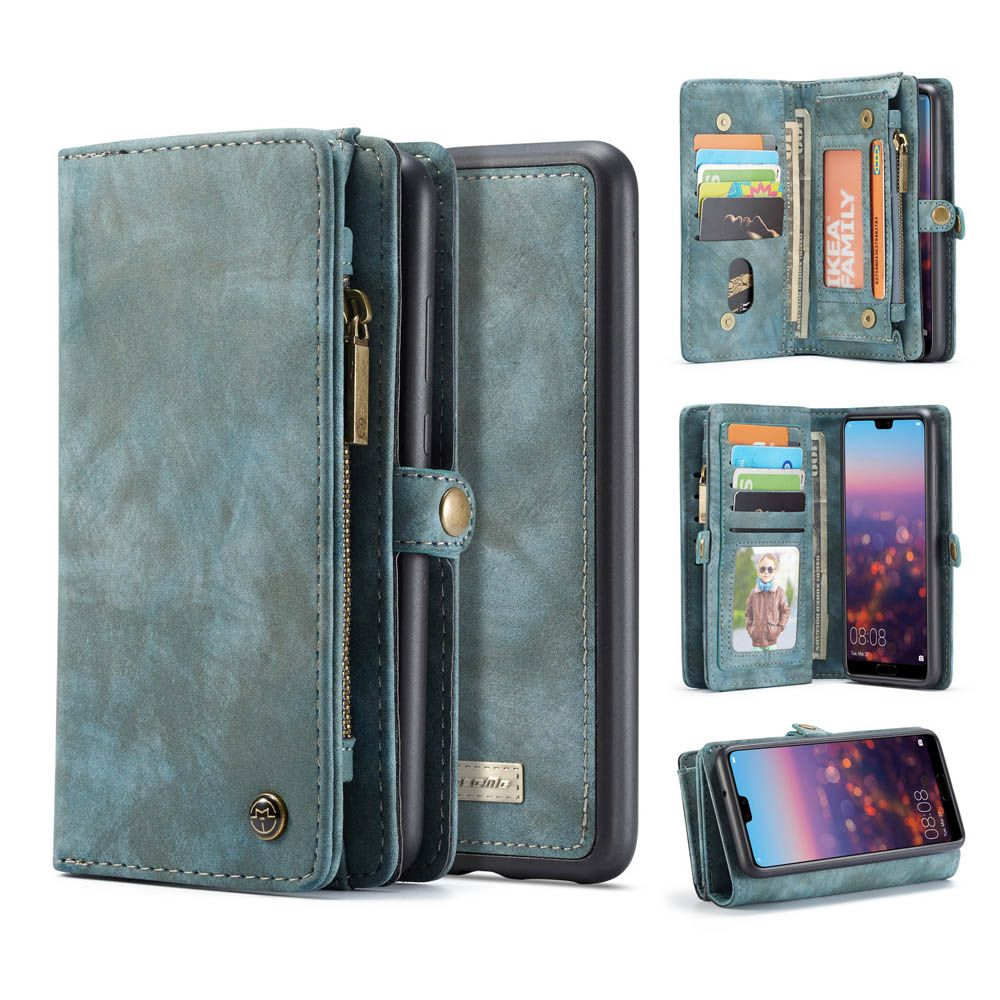 Caseme huawei p20 lite zipper wallet folio case