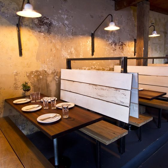 The 25 best restaurant booth ideas on pinterest Restaurant lighting ideas