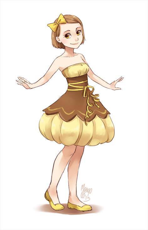 clothes inspired by lemon tart Anime chibi, Anime people