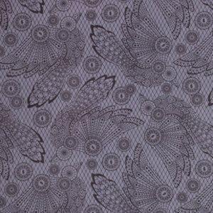 Tula Pink Raven Lace Evening Shade 1 Yard Night by chitchatfabrics,