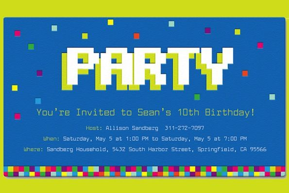 Send A Free Evite Invitation To Kick The Party Off Right Birthday