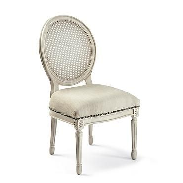 Louis Xvi Round Back Dining Chairs