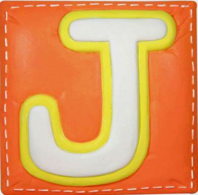 A bold citrus colored J! (With images) Letter j