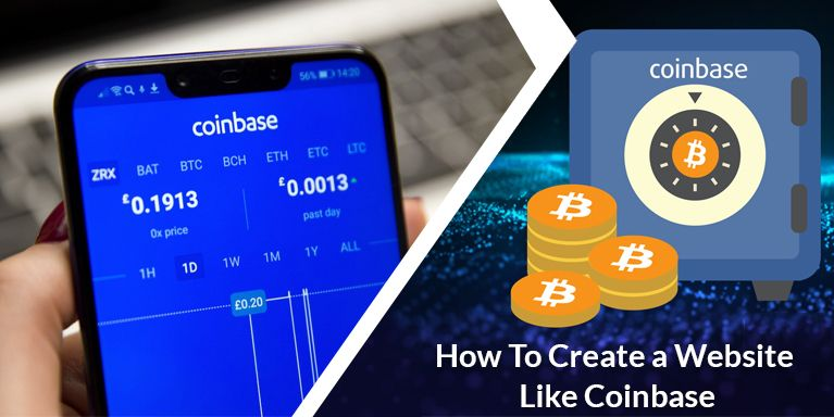 How to create a digital marketplace like Coinbase? (With
