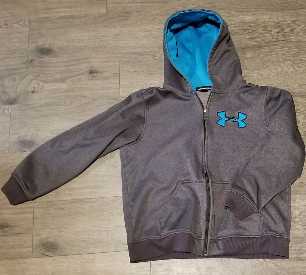 Boys youth UNDER ARMOUR hoodie size lg fashion clothing