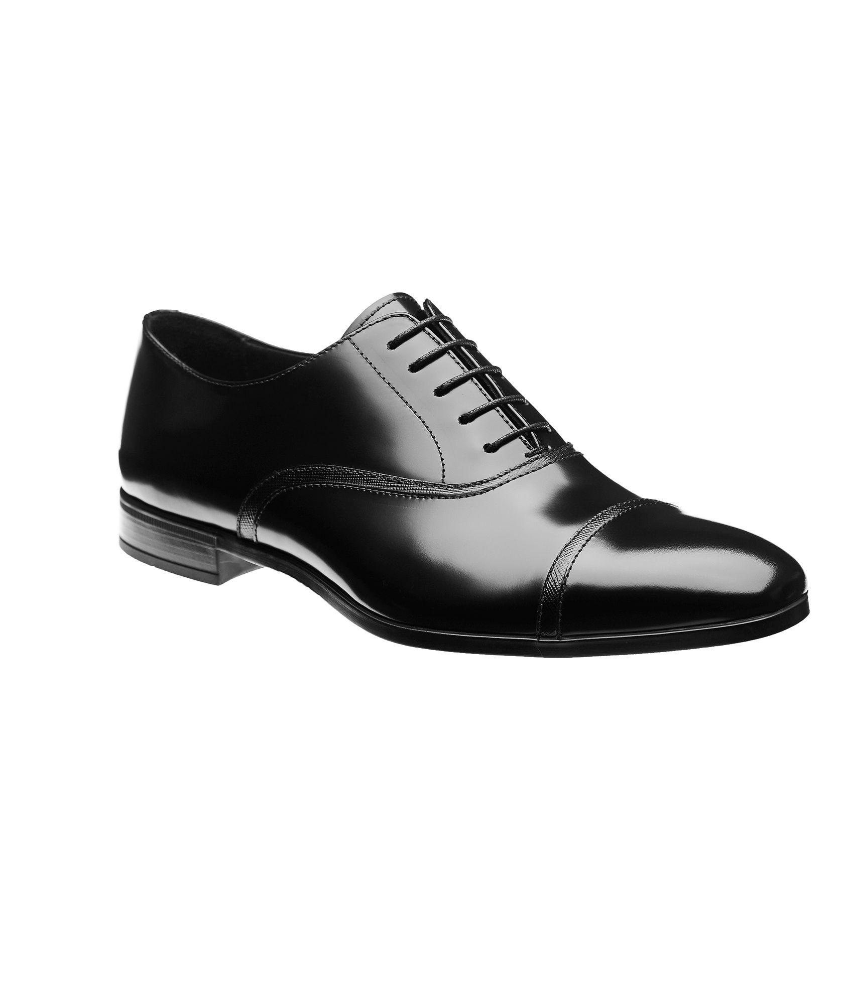 Prada Leather Oxfords   Dress Shoes