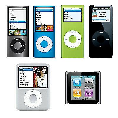 2nd 7th Apple iPod Nano 1st 16GB 6th 4th 3rd 5th 8th Generation//4GB 8GB