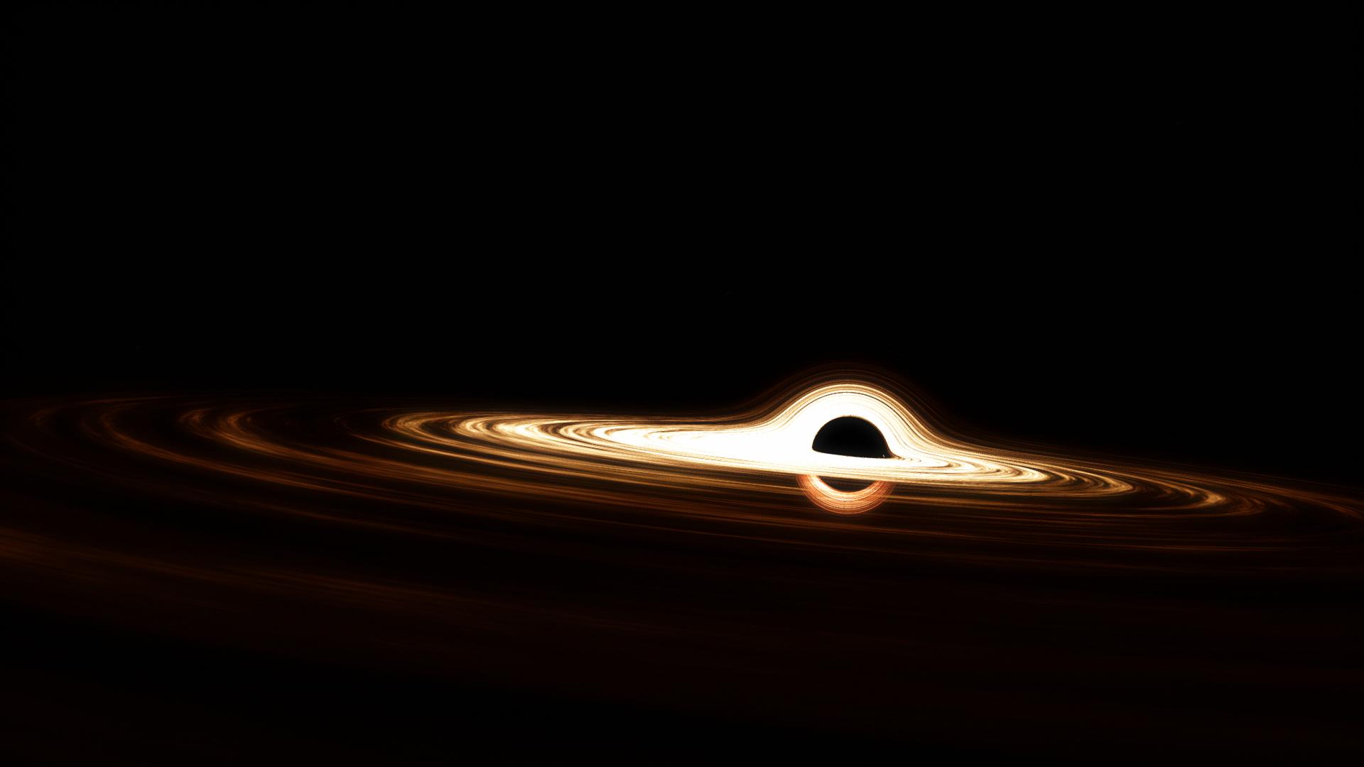The Monster Black Hole Ton 618 Spaceengine Black Hole Astronomy Event Horizon
