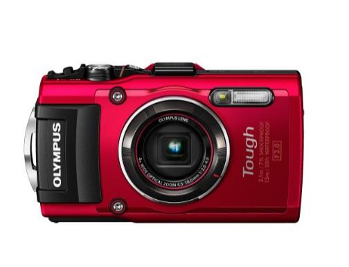 Olympus TG4 16 MP Waterproof Digital Camera with 3Inch