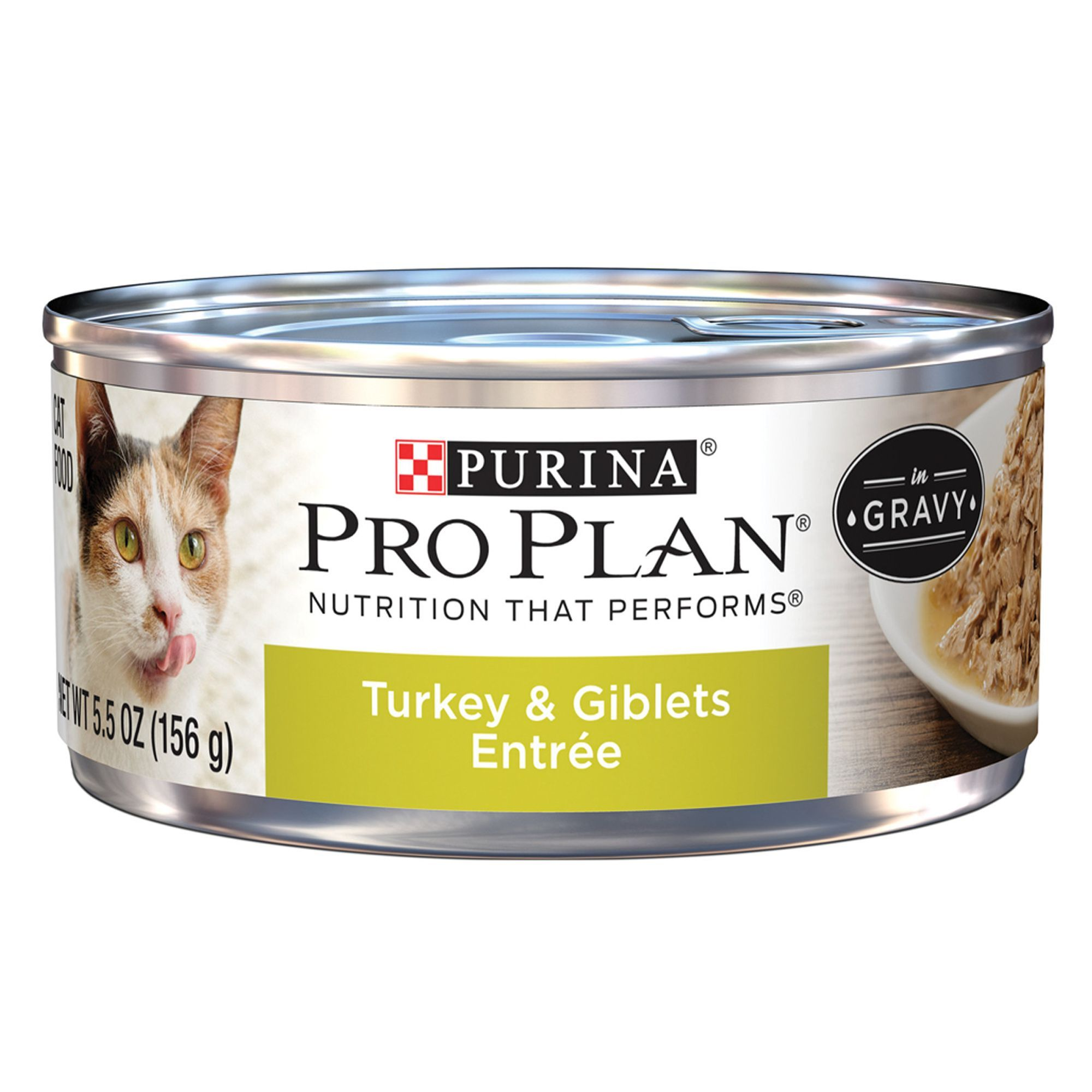 Purina Pro Plan Adult Cat Food Turkey And Giblets Size 5 5 Oz