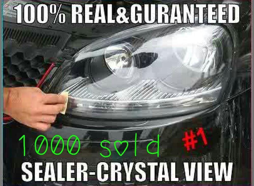 Super Strong 2000 Headlight Restoration Lens Kit Clean System