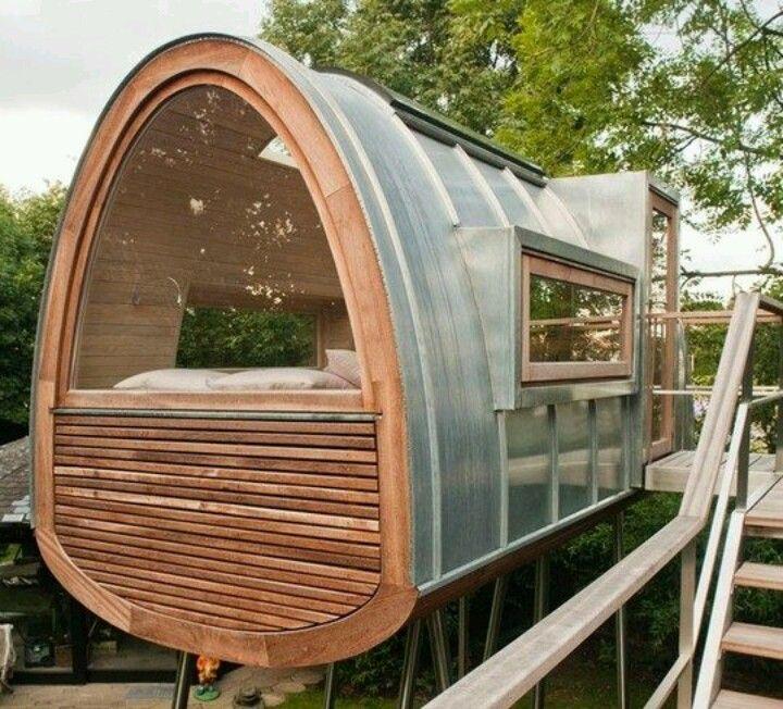 Modern tree house Coole baumhäuser, Baumhaus designs