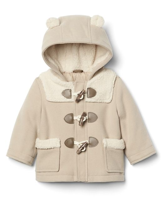0926d860a Gap Baby Cozy Bear Duffle Coat Classic Camel | Kids coats & jackets ...