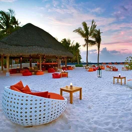 Island Resort, Resort, Water Villa