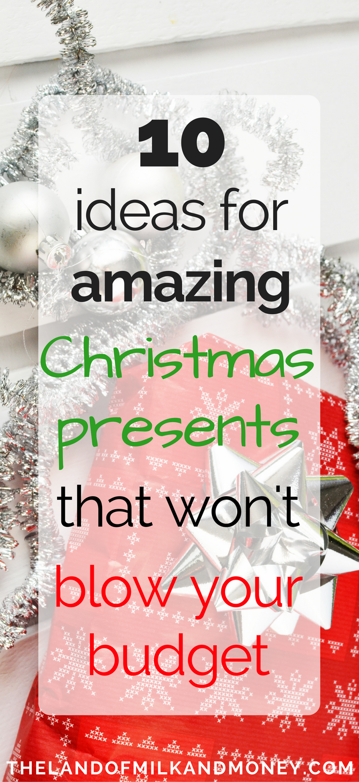 10 Hacks for Amazing Christmas Gift Ideas On A Budget | Holidays ...