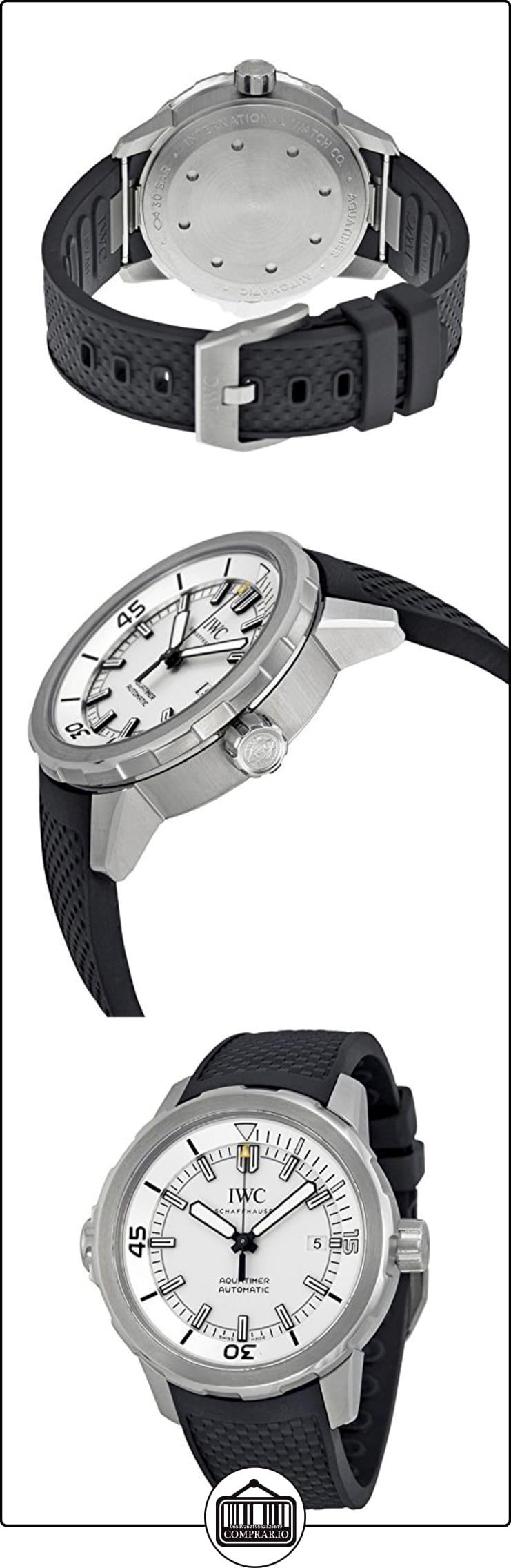 00ed1b841459 IWC RELOJ DE HOMBRE AUTOMÁTICO 42MM CORREA DE GOMA CAJA DE ACERO IW329003 ✿  Relojes para hombre - (Lujo) ✿
