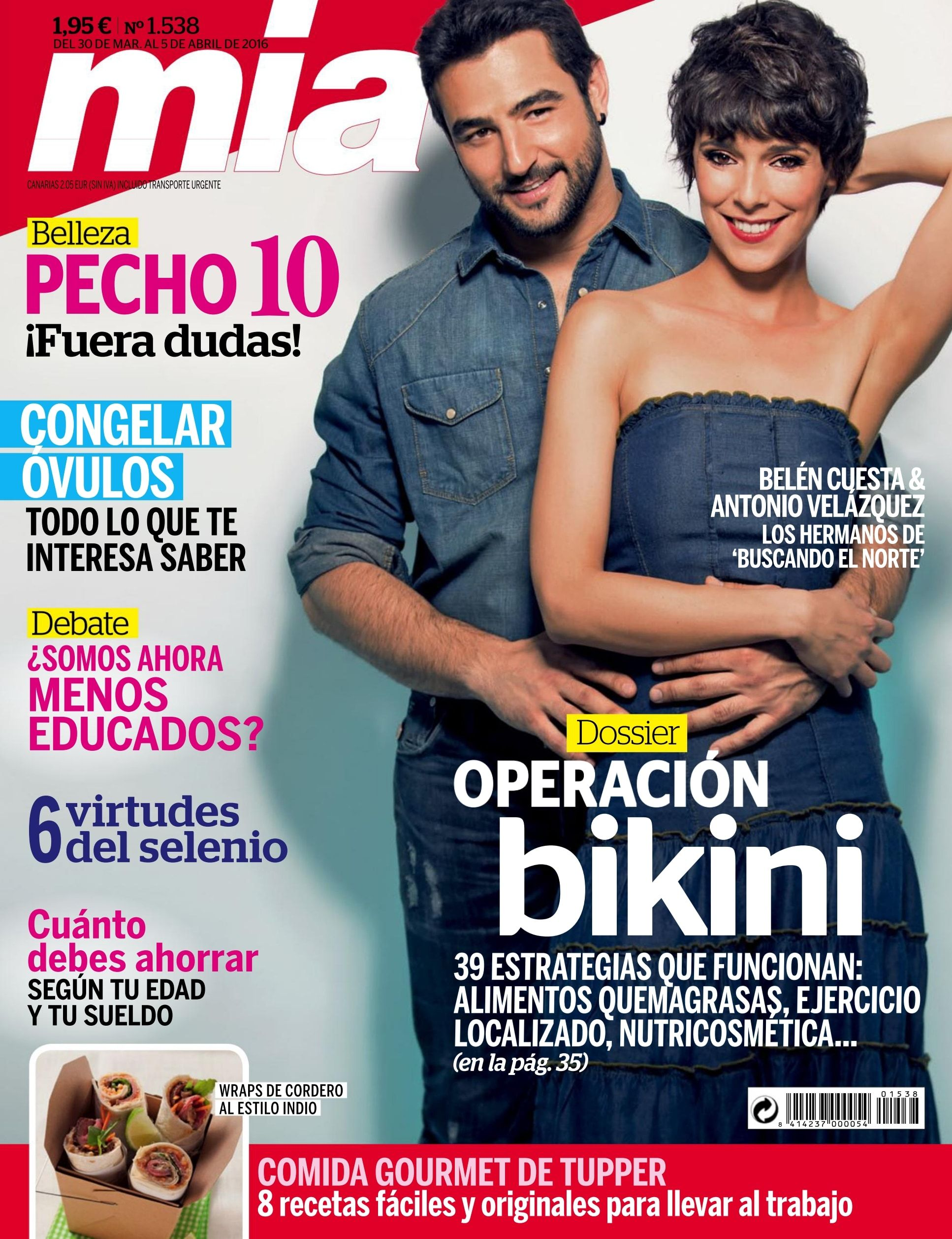 Revista m a 1536 como en m a siempre intentamos darte for Revistas de espectaculos de esta semana