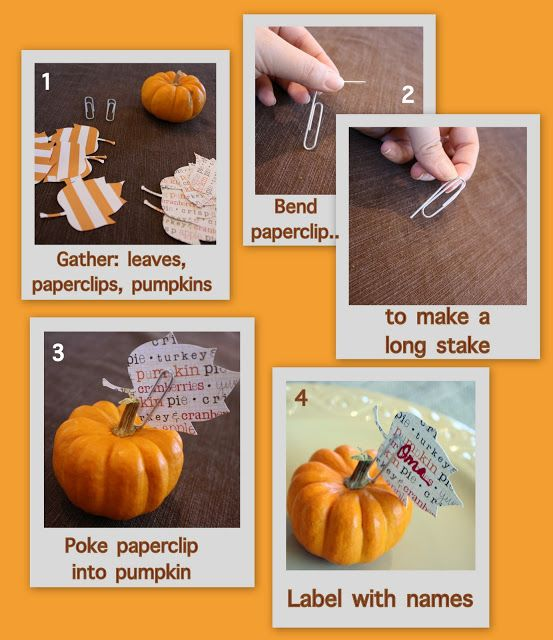 40++ Thanksgiving place card holders ideas in 2021