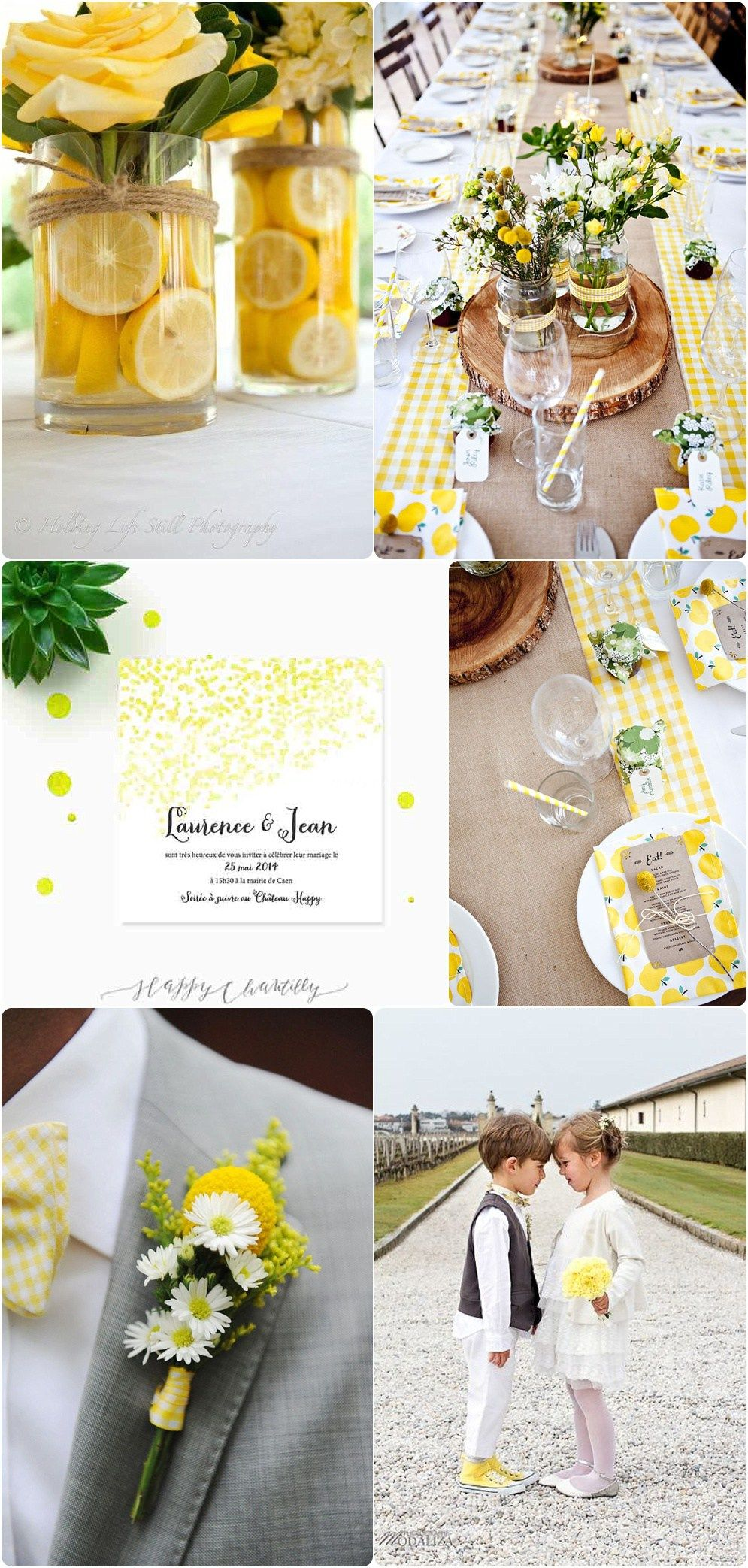 moodboard mariage jaune mariage mariage jaune d coration mariage et d co mariage jaune. Black Bedroom Furniture Sets. Home Design Ideas