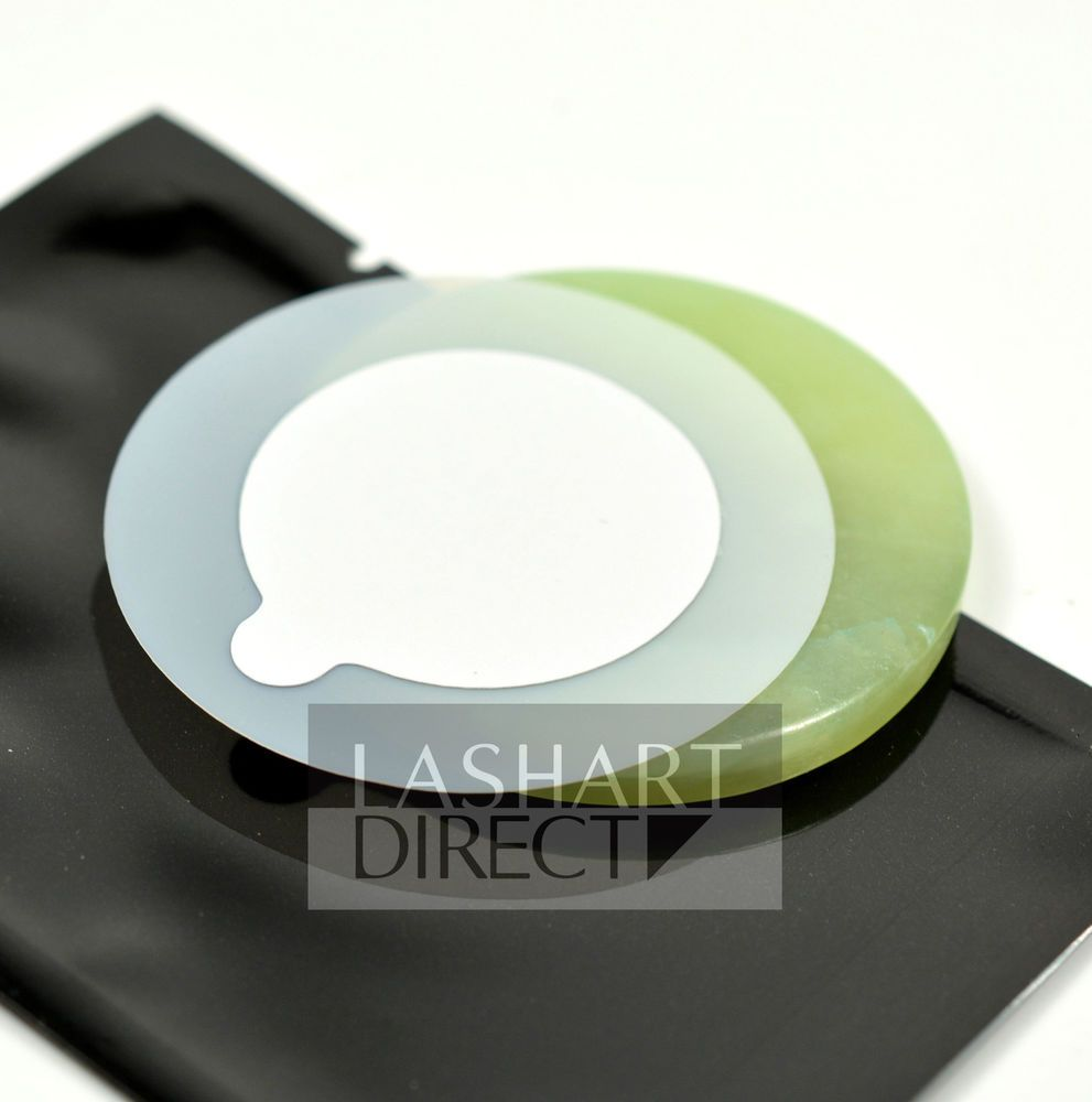 Protective Glue Cover Stickers for Jade Crystal Stone Eyelash Extension Tools