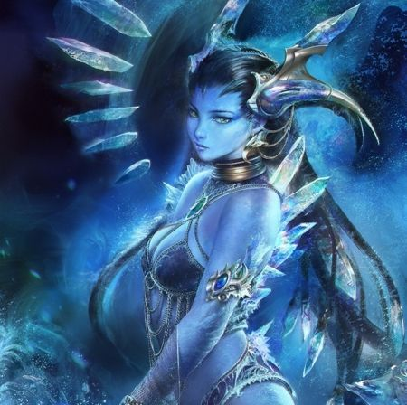 Marvelous Dark Ice Elf   Fantasy Wallpaper ID 1975160   Desktop Nexus Abstract: