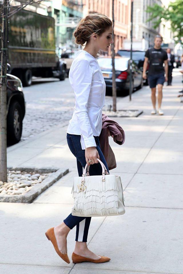 6a551359bb Olivia Palermo in Darling Duchess Bag