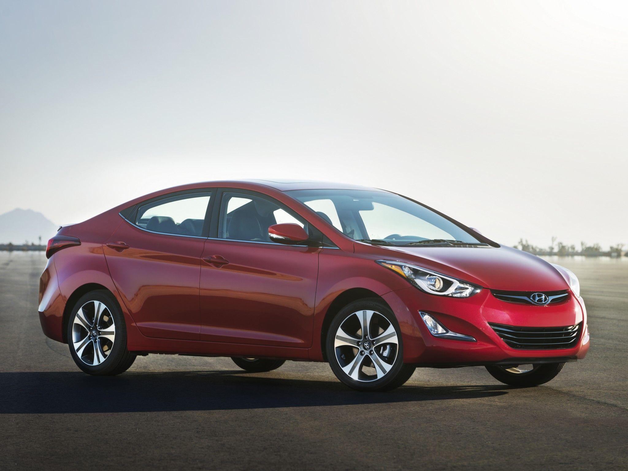 Hyundai elantra sport usa 2014 Hyundai la
