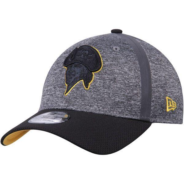 Men s Pittsburgh Pirates New Era Heathered Gray Black Clubhouse 39THIRTY  Flex Hat 4838b02636b4