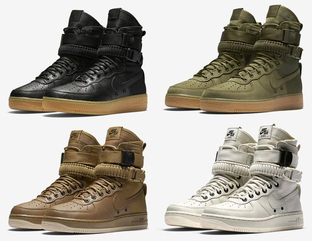 But this fall, the iconic Air Force affinity for utilitarian makeovers  rears its head once more with a new breed entirely -- the Nike SF