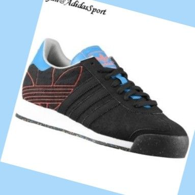 Black Solar Blue Pop - Adidas Originals Samoa men Nubuck Shoes,There must  be right