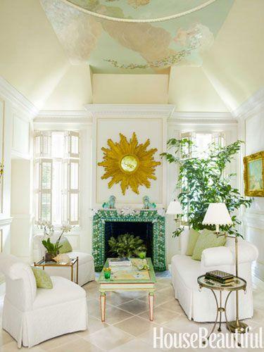 A Palm Beach Maisonette Beautiful Homes Beach House Decor Decor