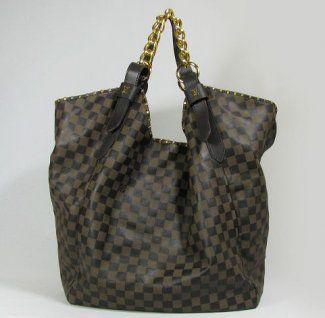 Louis Vuitton Handbags,Best Louis Vuitton Damier Cow Leather Handbags Coffee M95618