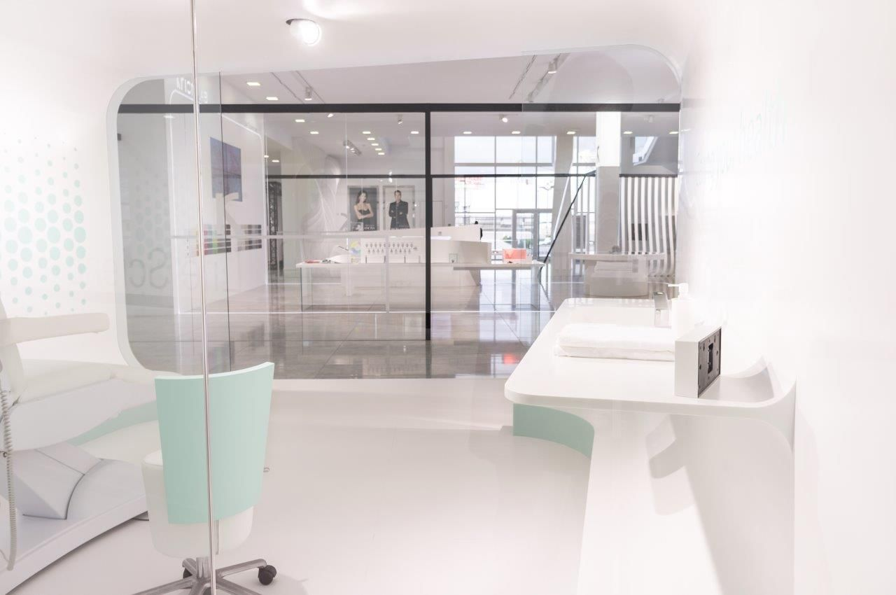 KRION® Blog – Porcelanosa Solid Surface » XXII Muestra Internacional de PORCELANOSA Grupo – K® HEALTH