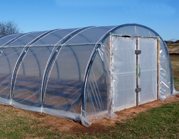 Portable poly pipe high tunnel hoop house construction for Portable greenhouse plans