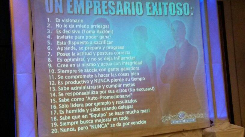 Características de un empresario exitoso!!!