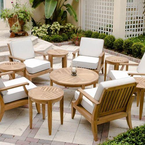 Laguna 11 Pc Lounge Set Teak Outdoor Furniture Teak Furniture