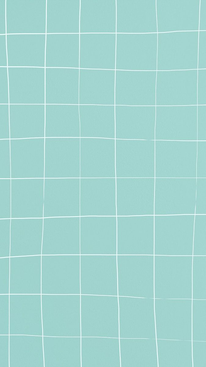 Download free illustration of Mint green distorted square tile texture