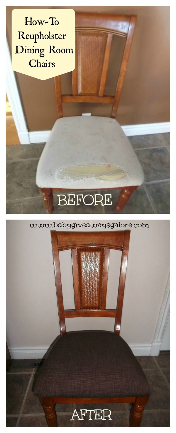 Howto Reupholster Dining Room Chairs  Brandy Schippers I Could Unique Reupholster Dining Room Chairs Decorating Inspiration