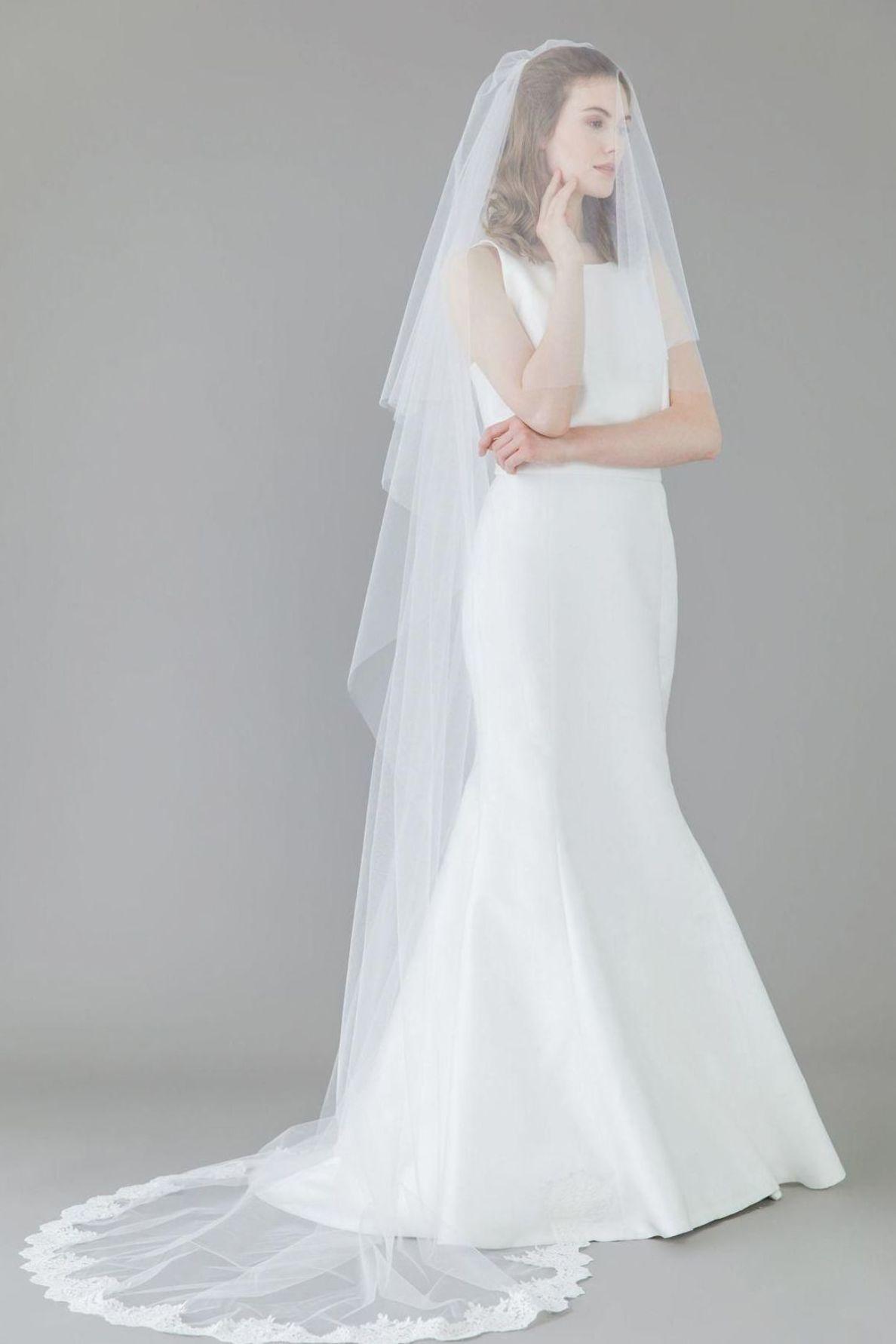 Wedding Veil Hair Clip #weddingjakarta #WeddingVeils