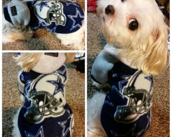 Dallas Cowboys  Football Fleece Dog / Puppy / Cat Hoodies Sweater for Small breeds Dogs Size S.M.L.XL.XXL (pls check the size before order)