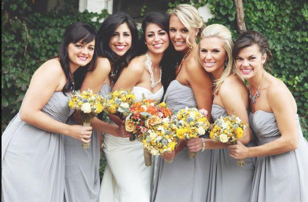 395a27421953 Bridesmaid dresses, David's bridal in Mercury grey. | My Denver ...