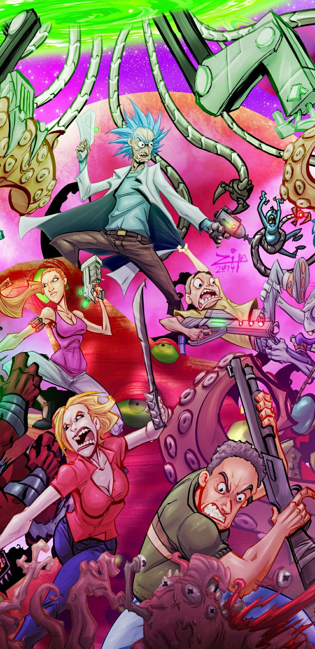 Pin by warrell wauchope on Comics Rick and morty
