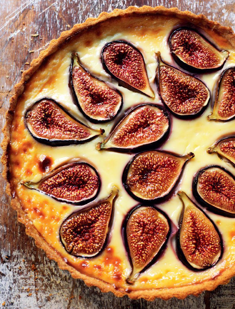 Rick Steins Dalmatian Fresh Fig Tart Recipe Rick Stein Random House Books Australia Fig Tart Tart Recipes Fig Recipes