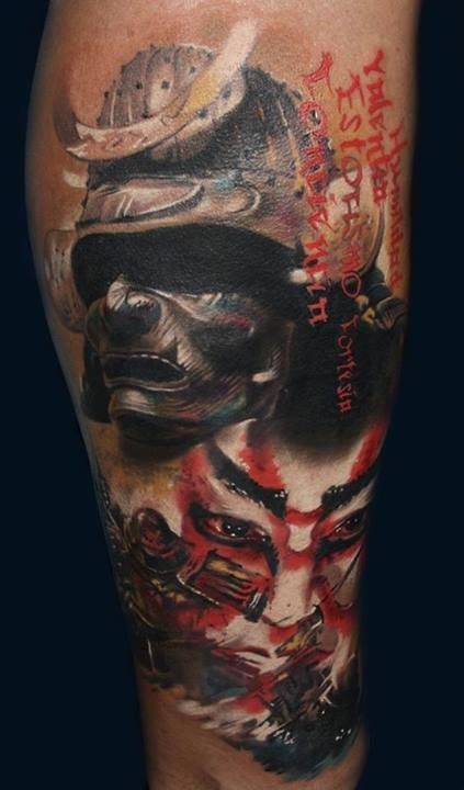 f040acece9a5c Tattoo. Samurai warrior. Badass! | For my hubby | Samurai tattoo ...